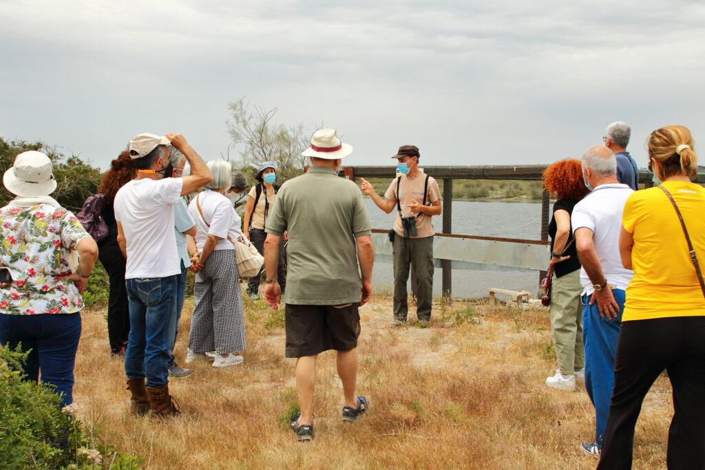 Incontro e visita guidata al Pantano Longarini